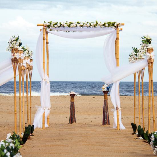 Arch Wedding Rental: Bamboo Arch